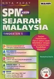Soalan Peperiksaan Percubaan Sejarah SPM 2013