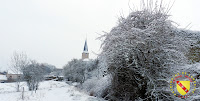 Maizières - Village enneigé