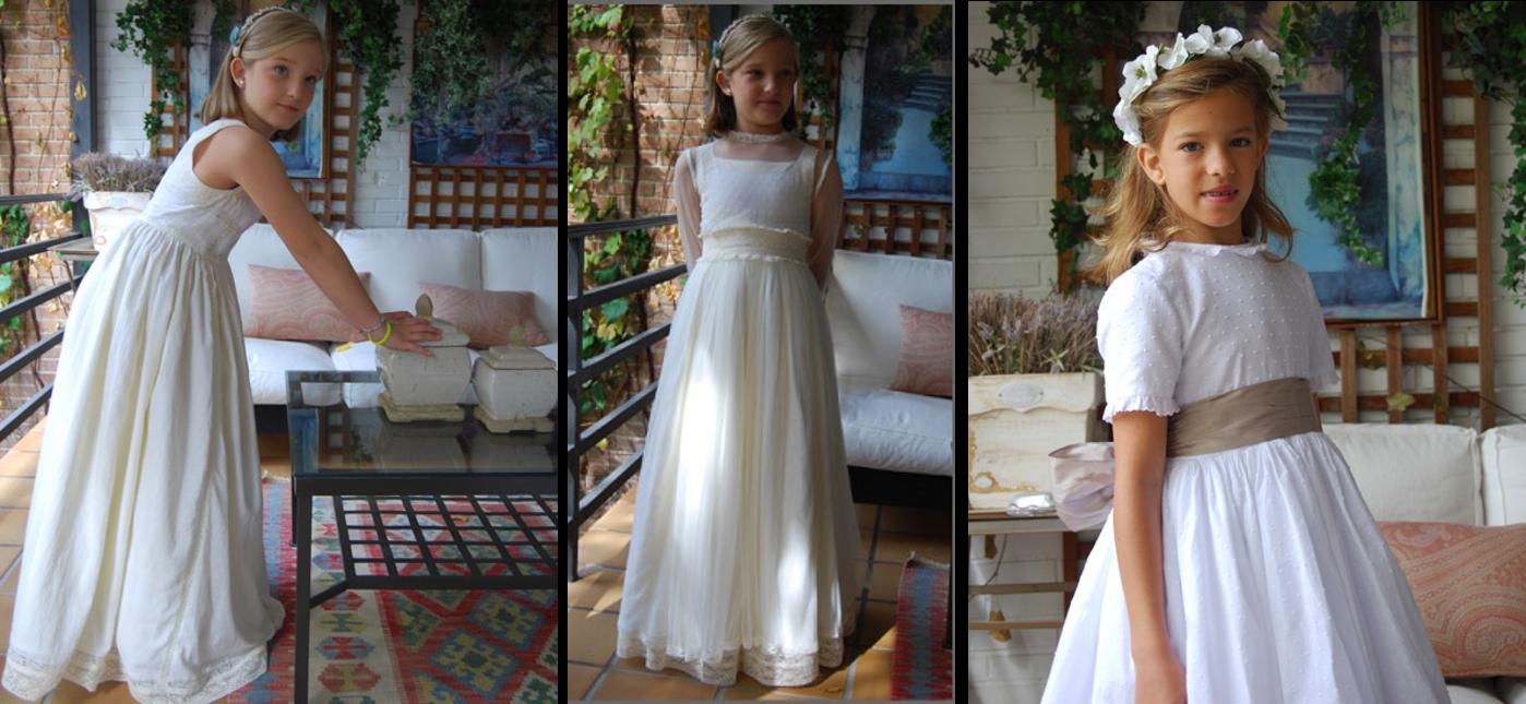 Vestidos de comunión Navascués 2014