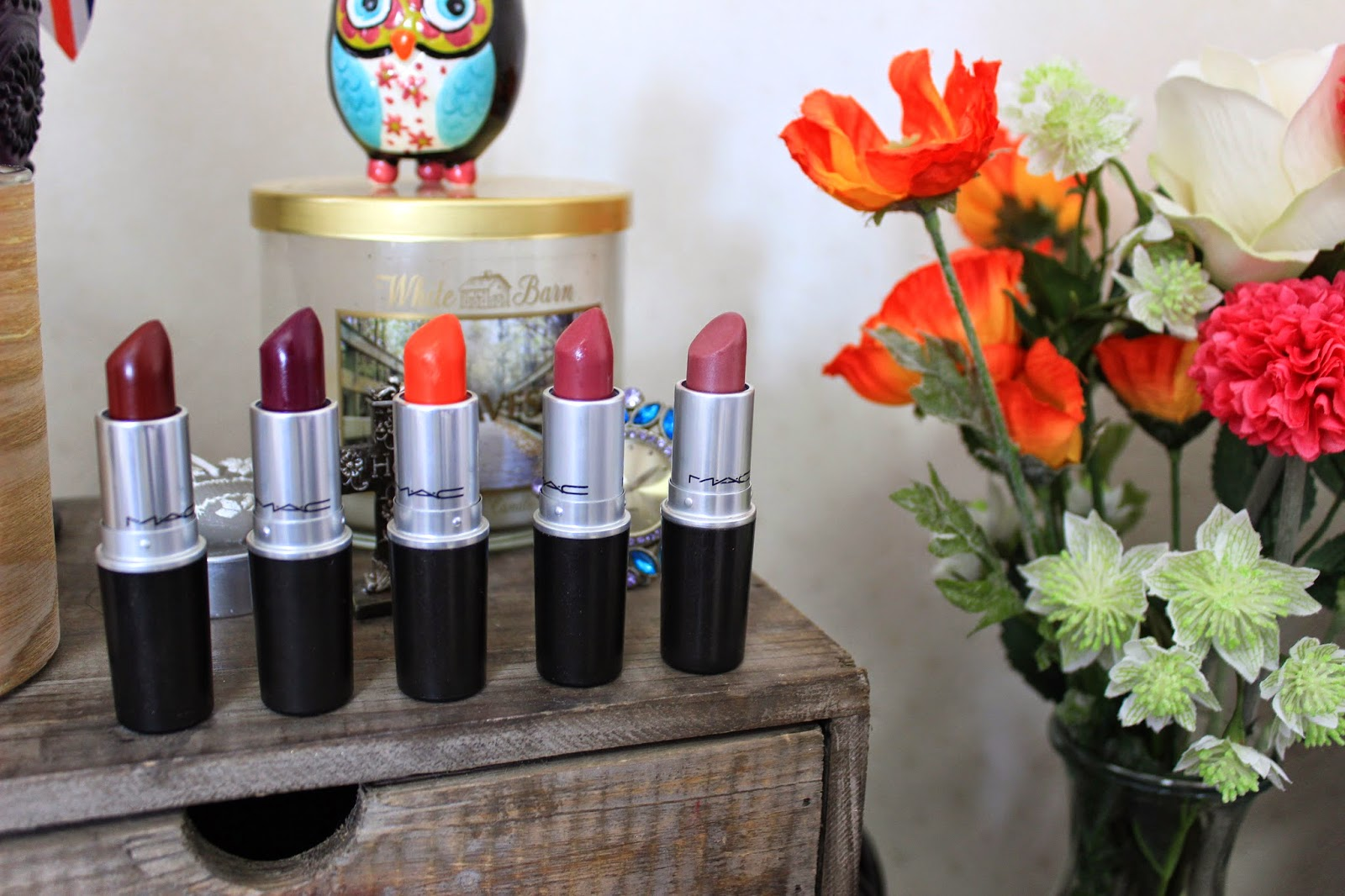 Top 5 MAC Lipsticks