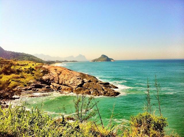 Tour de praias do Rio de janeiro - Vista do mirante do Roncador