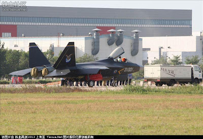 China's J-31 Stealth Fighter Jet