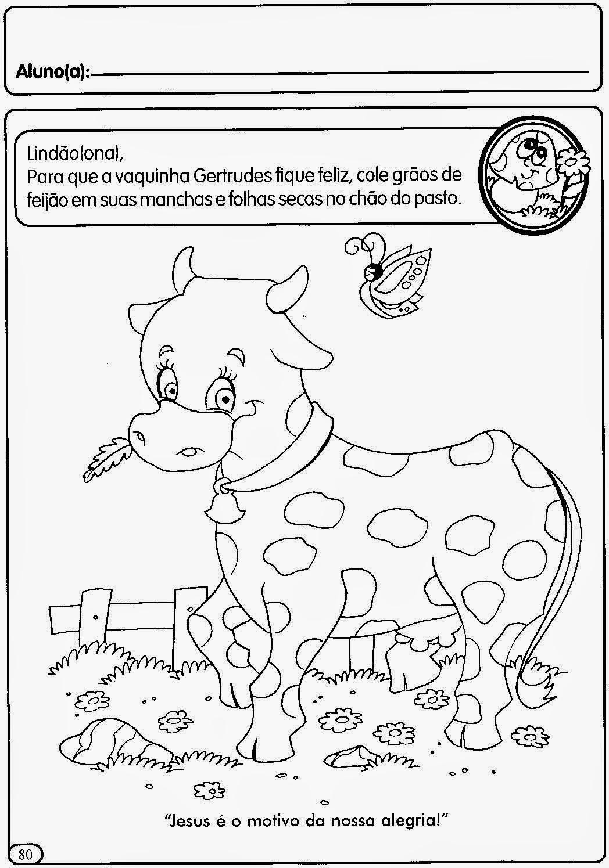 Atividades para o maternal e educa o infantil 3 anos 4 for Actividades pedagogicas para ninos de 2 a 3 anos