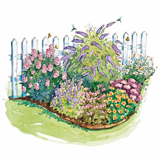 Florida ventana planejando um jardim com plantas perfumadas - Free garden plans ireland ...