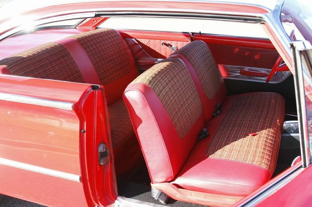 1960 ford starliner custom red auto restorationice. Black Bedroom Furniture Sets. Home Design Ideas
