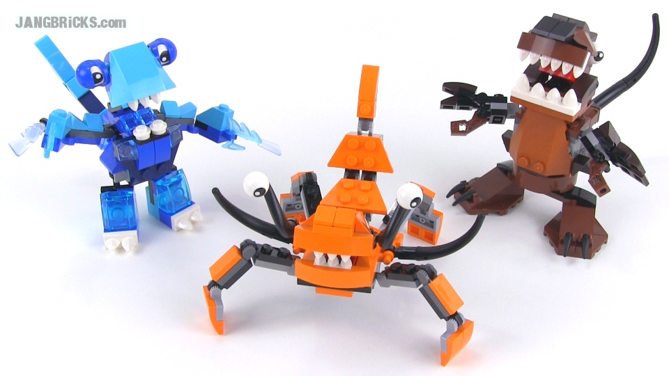 All Lego Mixels Series 2 Sets Reviewed Plus Max Combos