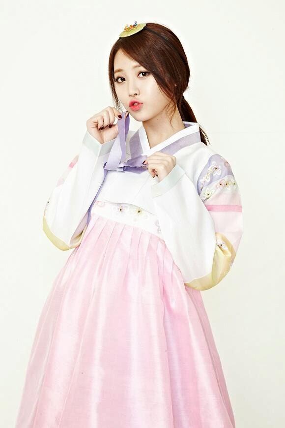 Yura Girl's Day Hanbok