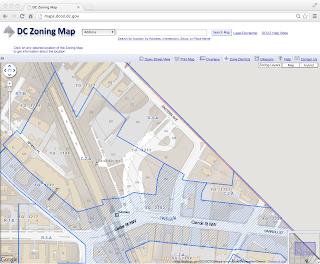 Takoma Metro site zoning