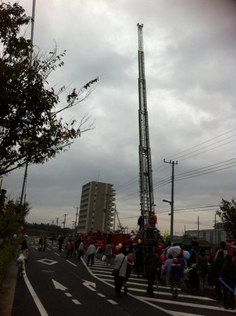 働く車展示会   小樽アニメパーティー