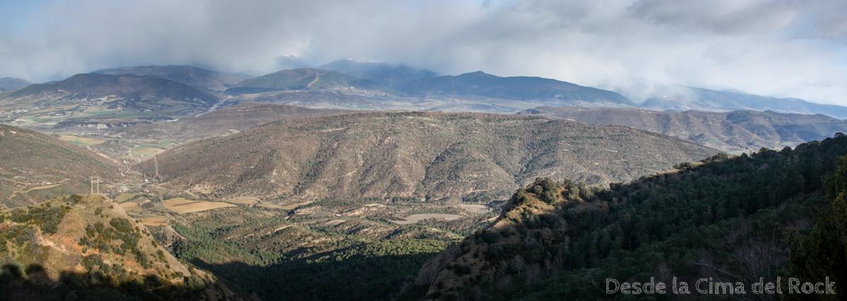 Desde la cima del rock de santa cruz de la seros a botaya for Mirador del pirineo