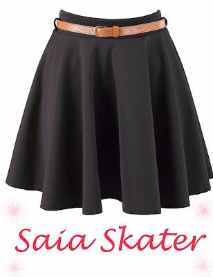 Como usar saia skater