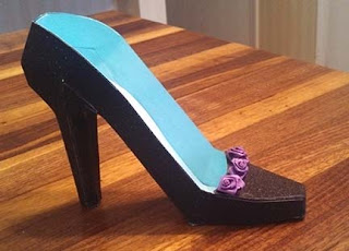 my crafty thoughts svgcuts 3d high heel shoe