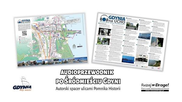 Nagraliśmy darmowy audioprzewodnik po śródmieściu Gdyni