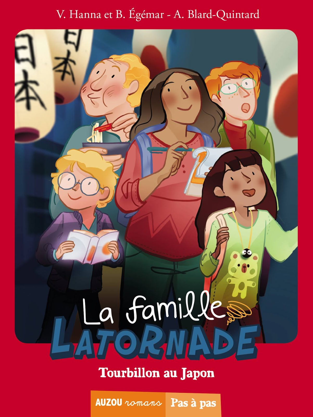 La famille Latornade, tourbillon au Japon