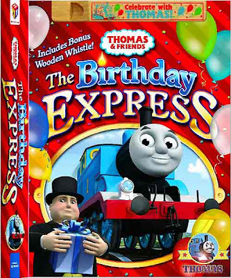 Railway characters Gordon Percy the tank engine Thomas and his friends Birthday Express DVD movies