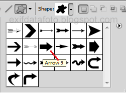 custom shape tool photoshop untuk membuat icon tombol website