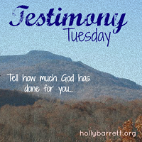 http://hollybarrett.org/testimony-tuesday