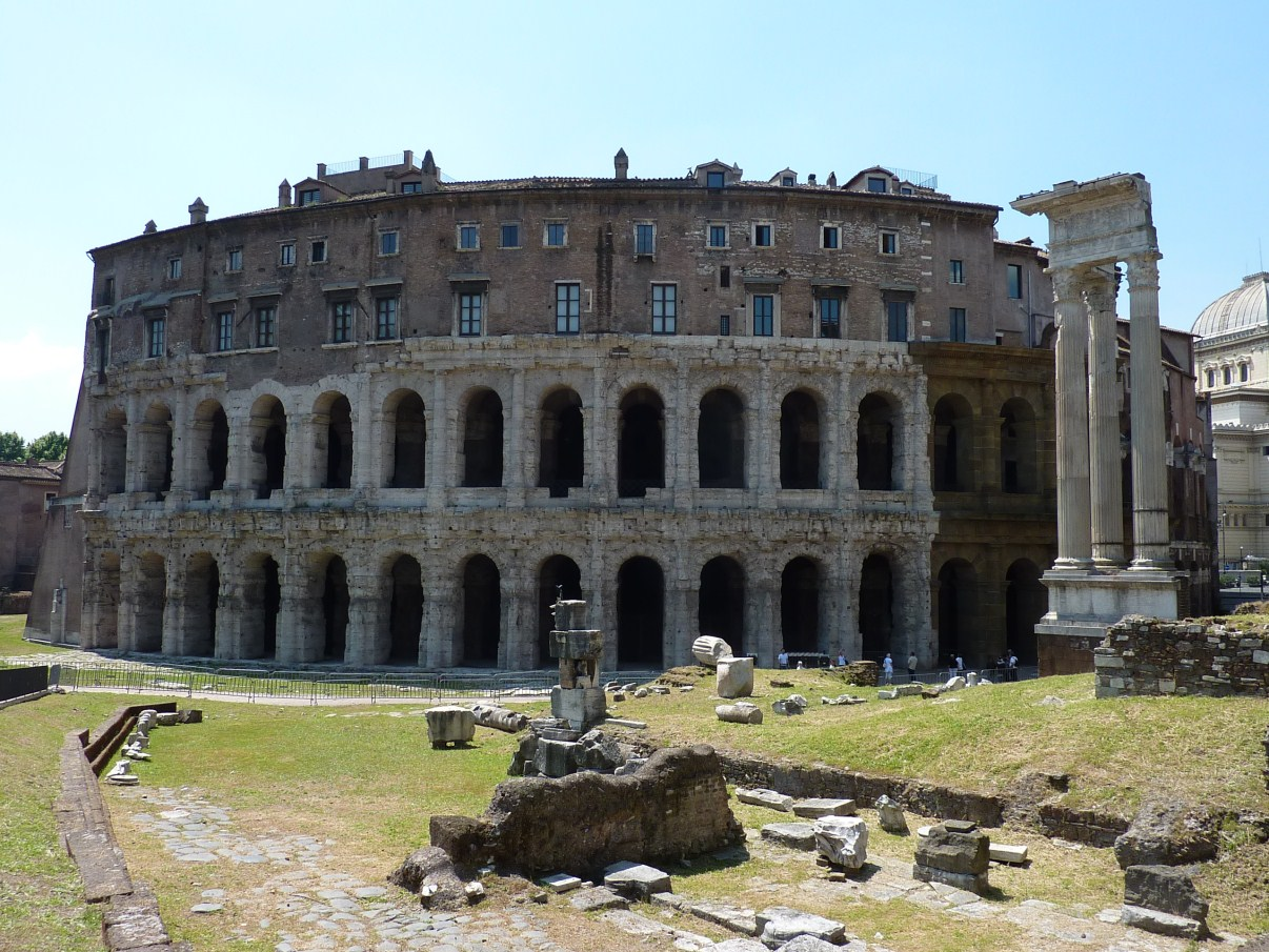 Displaying 20> Images For - Theatre Of Marcellus Interior...
