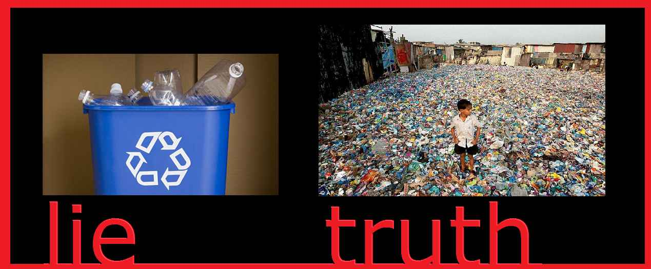 plastic waste THE MENTAL REVOLUTION mischa vetere greenpeace world wide fund clean planet