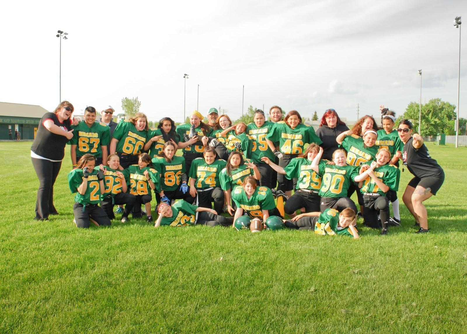 Manitoba Girls Football Association June 2013
