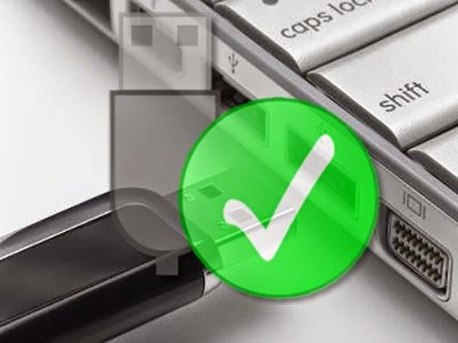 ازالة usb disk أو memory card بشكل امن بضغطة واحدة من  لوحة المفاتيح keybord