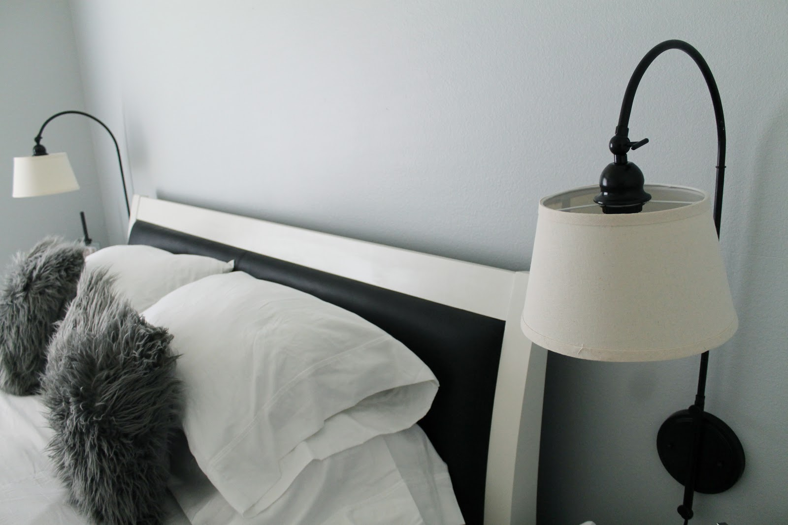 New, Cheap, Modern + Traditional Wall Lamps in the Bedroom - Chris Loves Julia