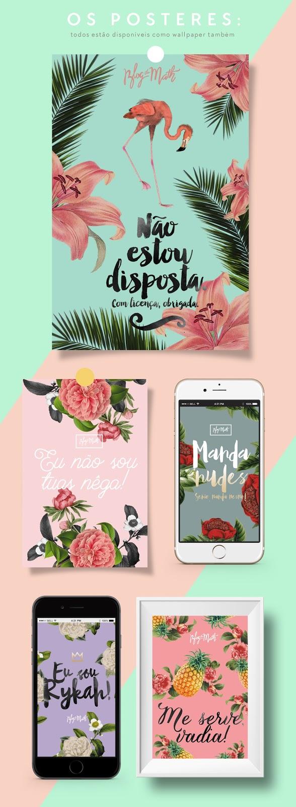 flamingo free poster