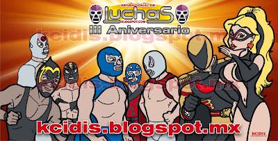 3 aniversario sensacional de luchas, por kcidis