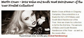 Martin Crean – 2014 Wales and South West Hairdresser of the Year Finalist Collection!