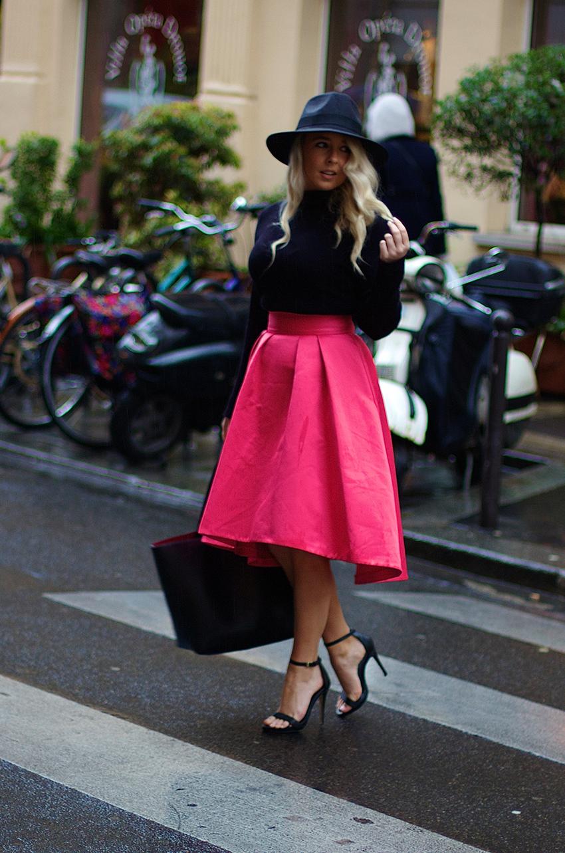 the coast midi skirt side of style