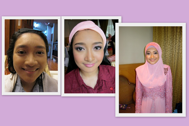 Natural makeup for sis of bride, bridesmaid