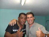 Luiz Carlos da Banda Raça Negra e Valdi Salles