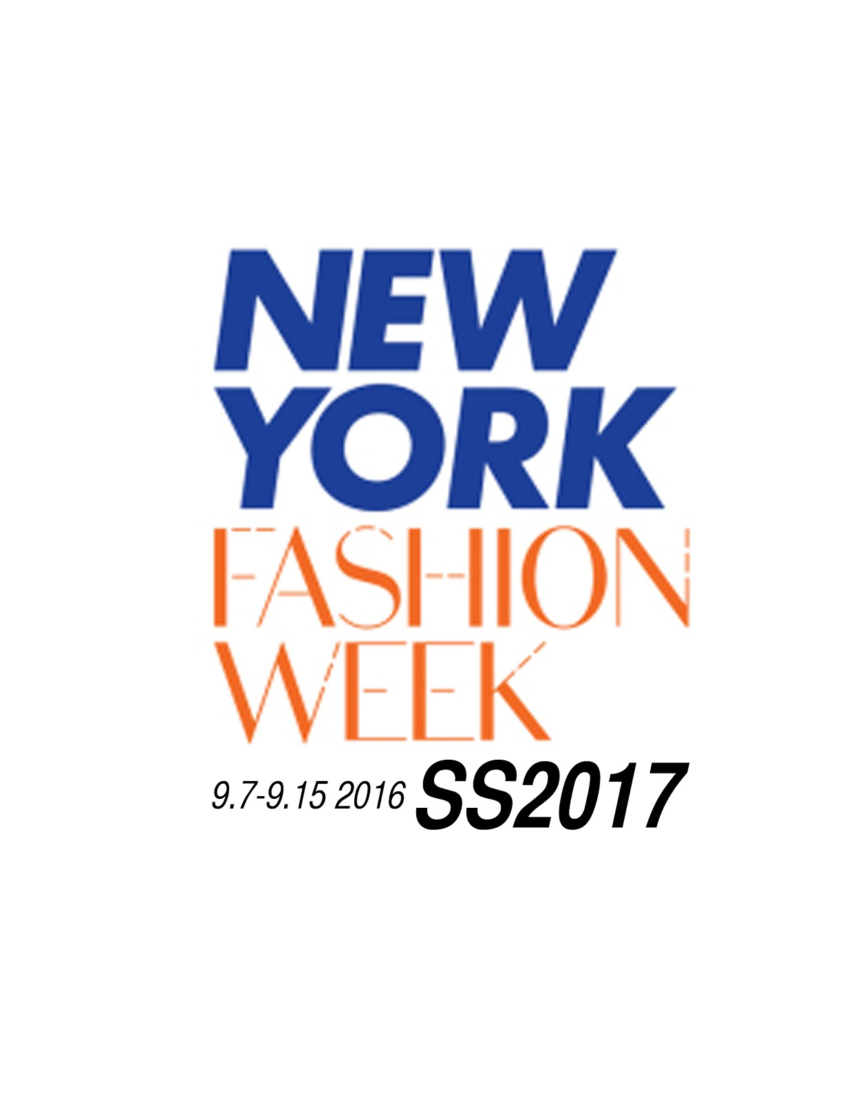 NYFW WOMEN|MEN SS2017