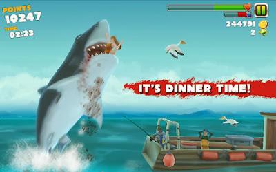 Hungry Shark Evolution v2.2.3 Unlimited Money & Jewels Hack