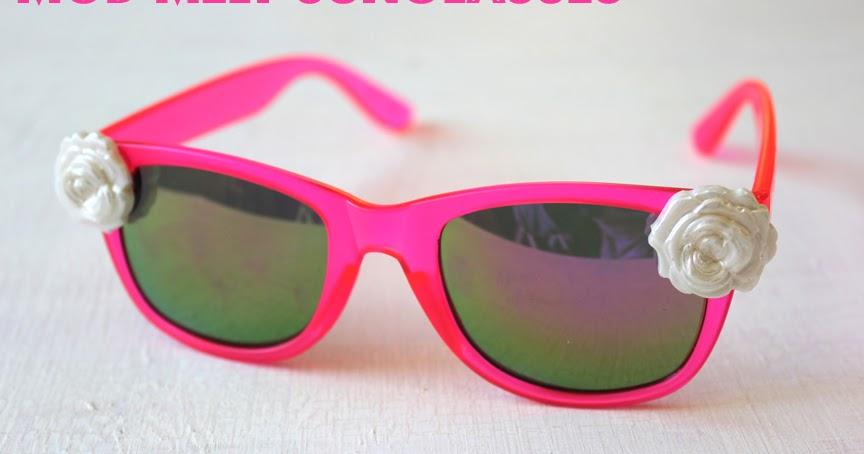 DIY Rose Sunglasses with Mod Melts
