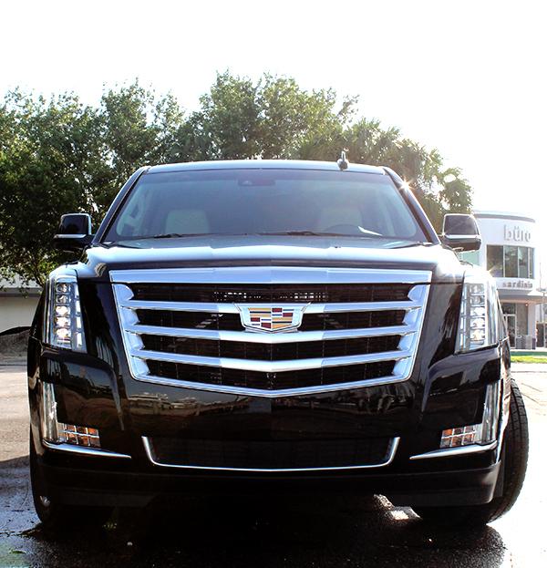 Cadillac Escalade 3rd Row Seats: Cadillac Escalade