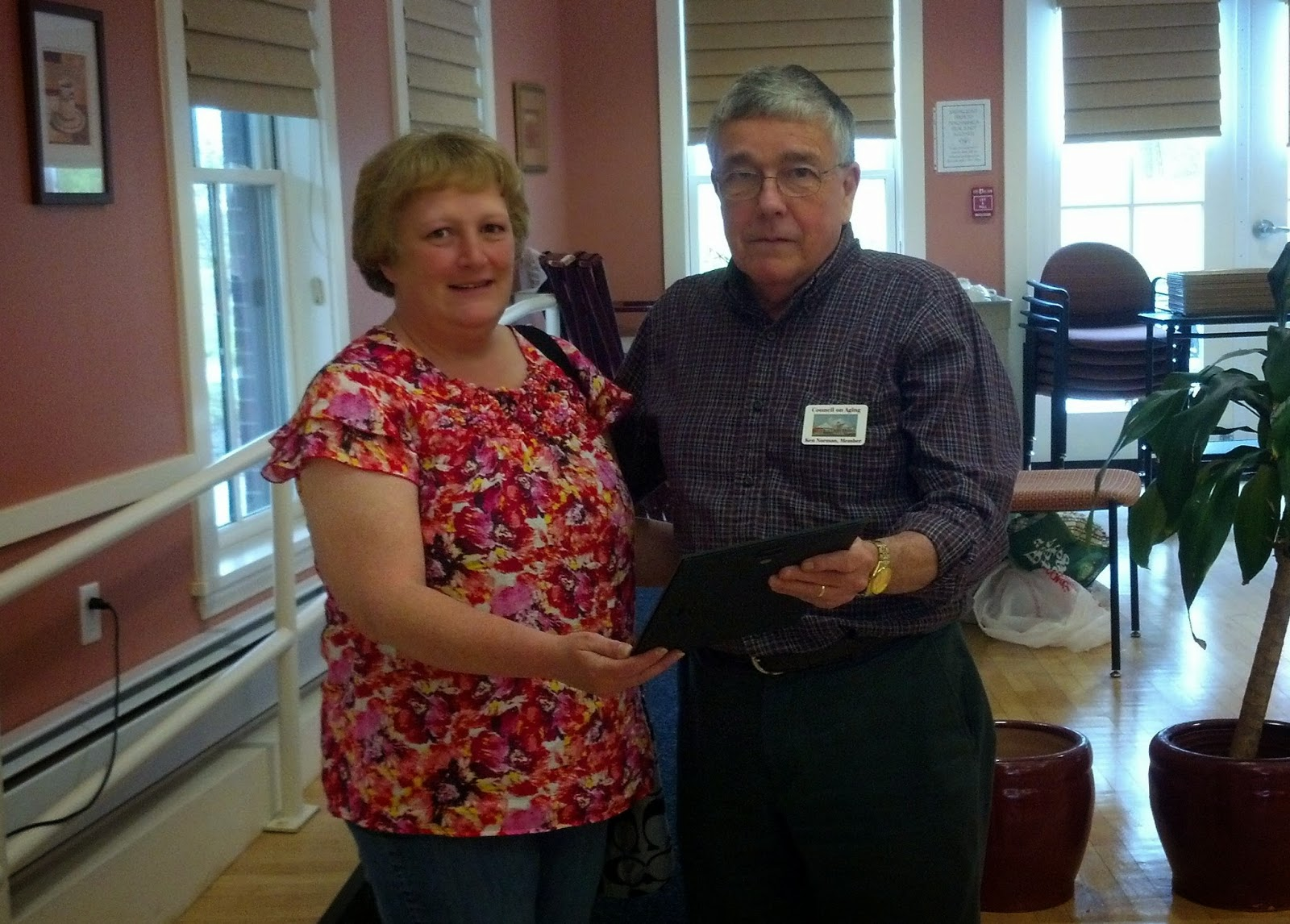 Director Linda Sottile recognized with munity Service Award