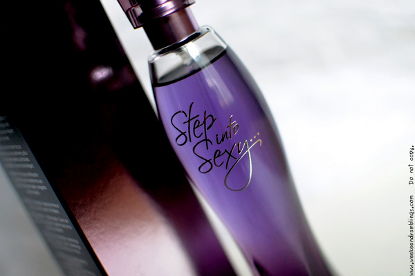 Avon Step Into Sexy Eau de Parfum EDP Perfumes for Women Fragrance Blog Review