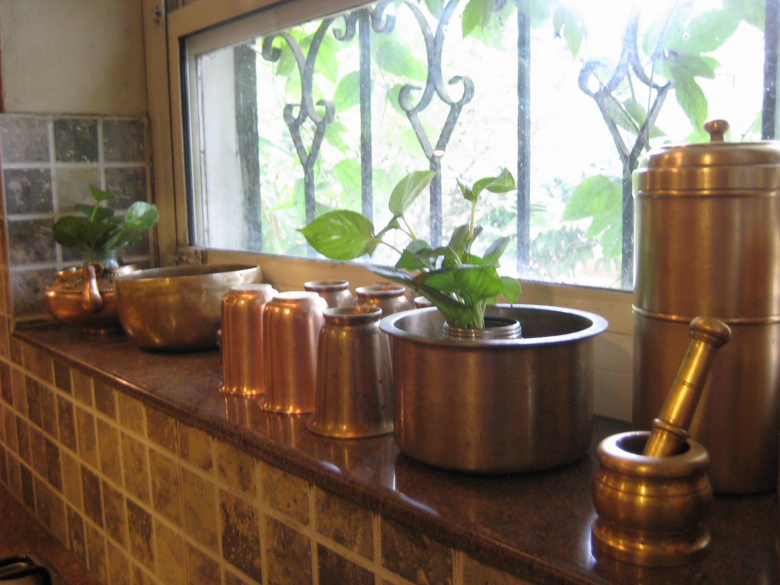 Avial n rasam heart h n home kamini 39 s eclectic kitchen for Traditional indian kitchen pictures