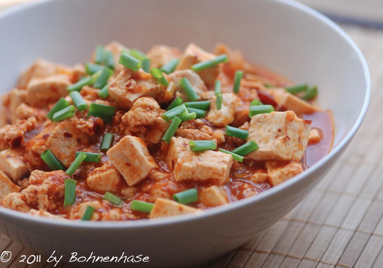 Bohnenhase Bento: Mapo Tofu or Mapo Doufu / 麻婆豆腐