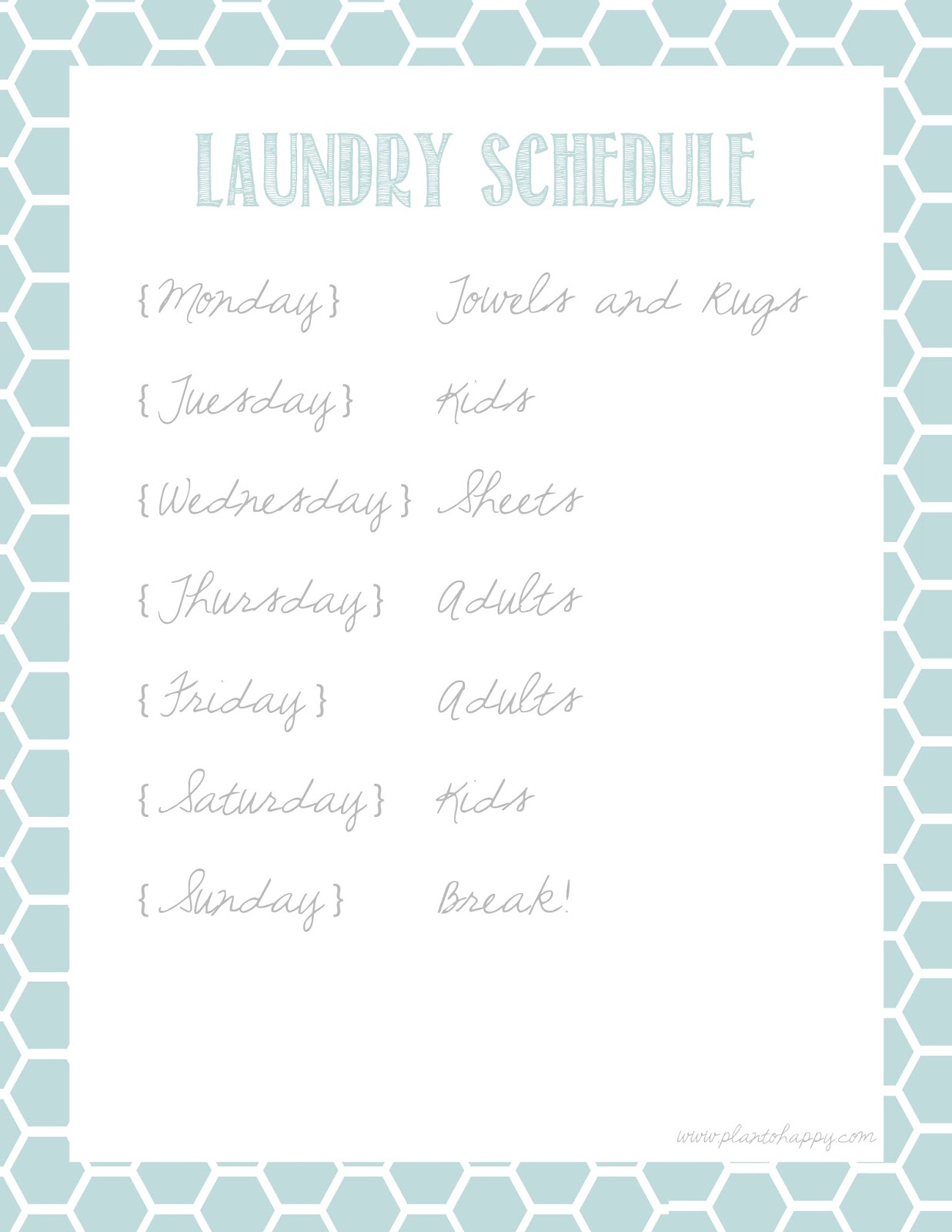 plan to happy 10 great cleaning calendar printables plus mine