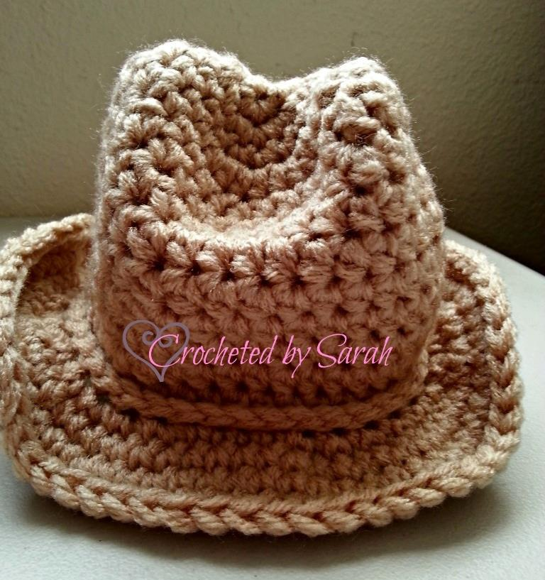 Crochet Pattern Newborn Cowboy Hat Traitoro For