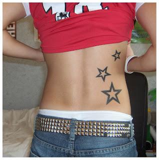 tattoo, tattoos, star, stars, back, ink