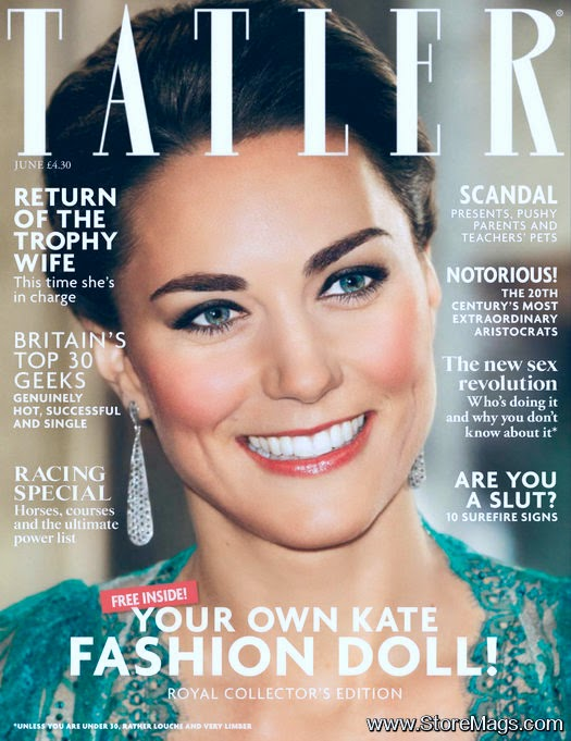 Kate Middleton covers Tatler UK June 2014