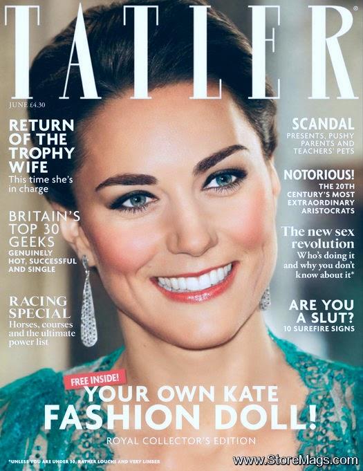 Kate Middleton covers Tatler UK June 2014