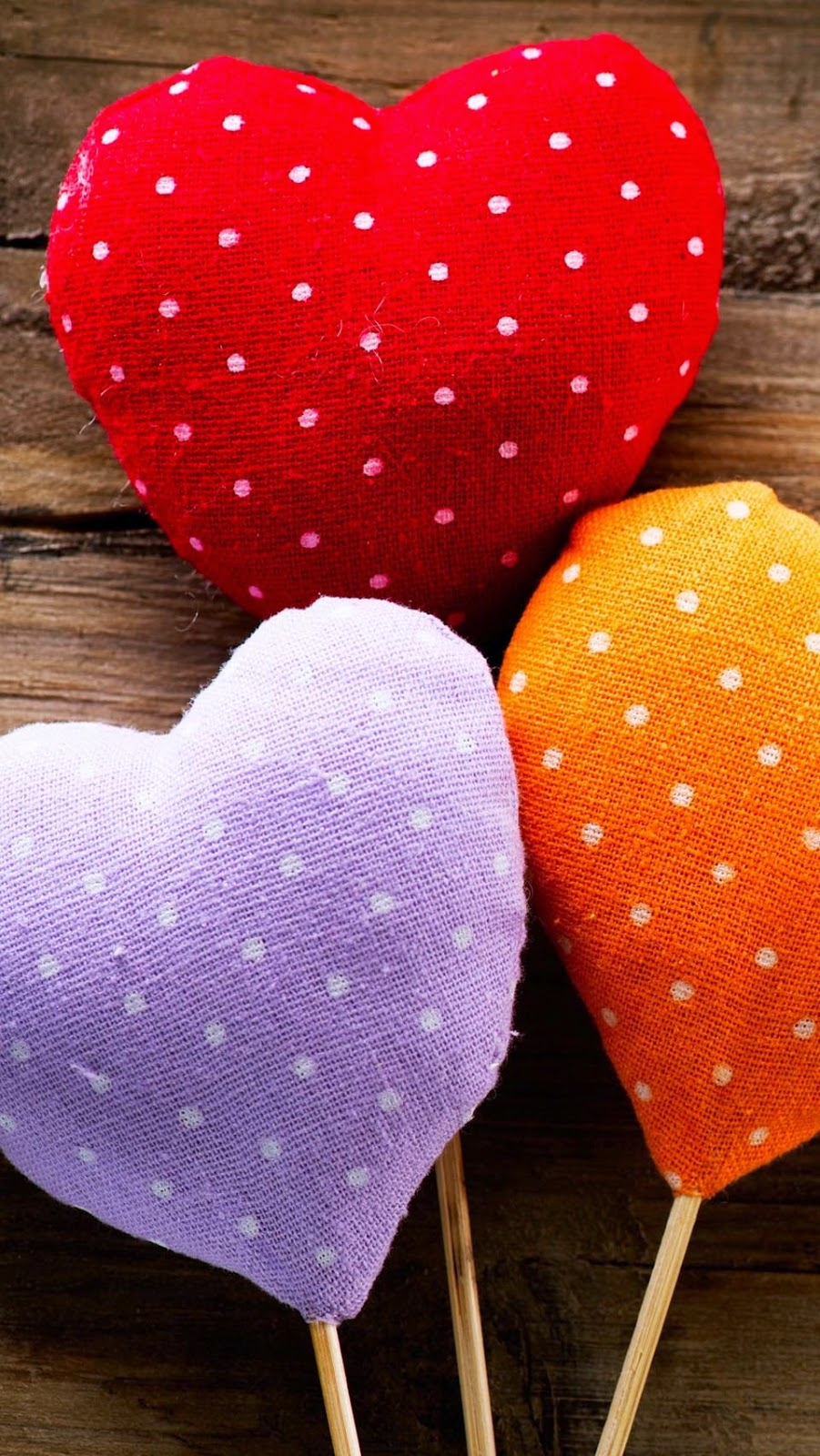 Iphone 6 Plus Wallpaper Colorful Hearts Covers Heat