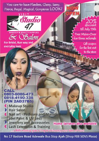 STUDIO 47 Make-up&Beauty Suppliers