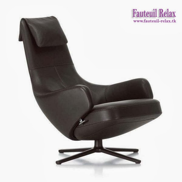Fauteuil relax grand repos vitra fauteuil relax for Fauteuil design vitra