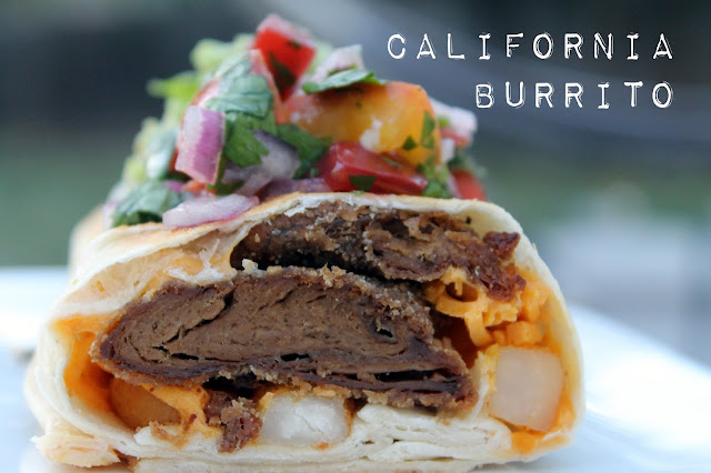 Vegan4One's California Burrito