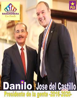 LIC. JOSE DEL CASTILLO APOYANDO LA REELECION DE DANILO